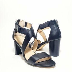 Adrienne Vittadini Strappy Heels Sandals Worn 1x